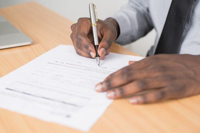 arbeidscontract tekenen